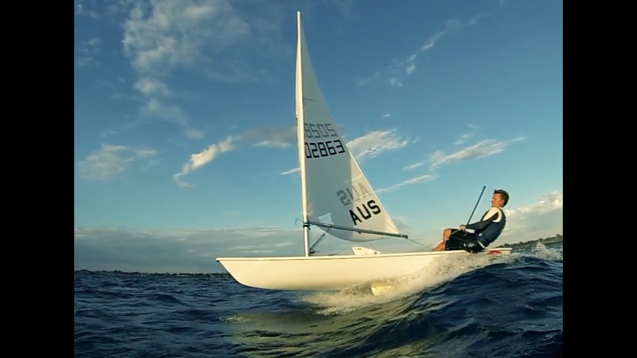 Extreme Laser Sailing With Jeremy O Connell