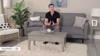 Turner Lift Top Coffee Table - Gray - Product Review Video