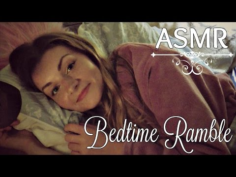 🌜💗  Get Comfy & Cosy With Me ~ ASMR Bedtime Ramble 💗🌛