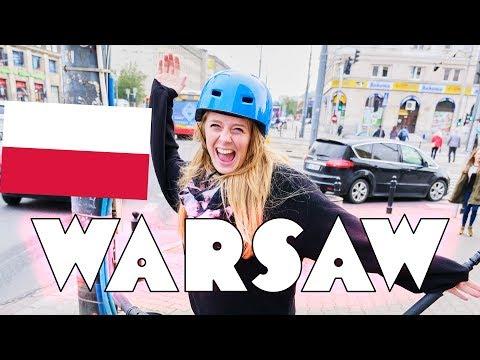 Visit Warsaw by SEGWAY?! (i crashed) 🇵🇱