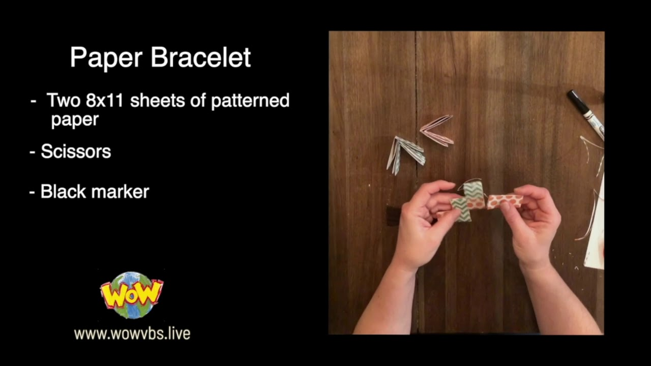 WOW VBS L4 craft Bracelet