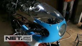 Ngga Mau Kalah Sama Jokowi, Gibran Juga Ikutan Modifikasi Motor - NET JATENG