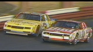 Earnhardt and Waltrip collide at Richmond in 1986
