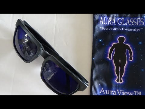 AURA IMAGING GLASSES REVIEW , ULTRAVIOLET SPECTRUM ,  LIFE AFTERLIFE TV PRODUCTIONS