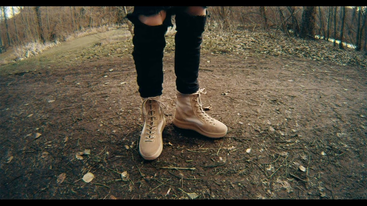 277ca56ced81b I copped yeezy season 3 military boots! - YouTube