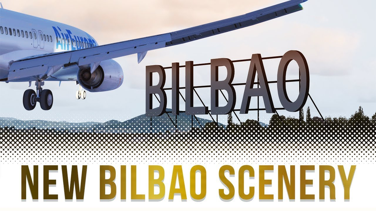 P3D V4 2 | Landing at NEW Bilbao Airport! | TropicalSim LEBB First Look by  CptVince