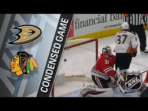 02/15/18 Condensed Game: Ducks @ Blackhawks
