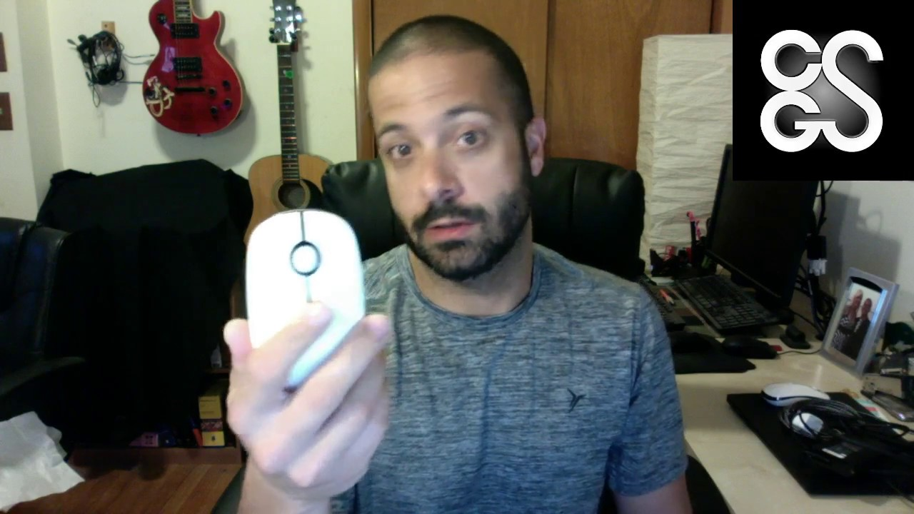 27d7c8ab8f4 Jelly Comb 2.4G Wireless Mouse with Nano Receiver Review - YouTube
