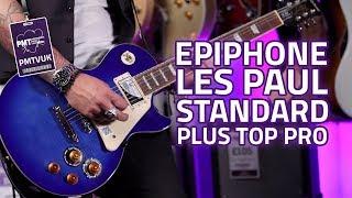 Epiphone Guitar Les Paul Standard Plus Top PRO Wine Red
