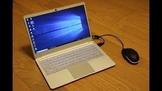 3万円ちょっとで買えるモバイルノート Jumper EZBook X4 を開封してセットアップしてみた。
