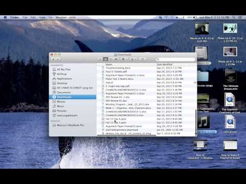 How To Find And Open Downloads With A MacBook Pro