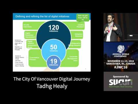 JWC 2016 - The City of Vancouver's Digital Journey - Tadhg Healy