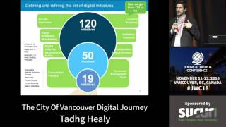 JWC 2016 - The City of Vancouver's Digital Journey - Tadhg Healy thumbnail