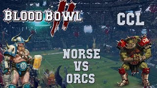 Blood Bowl 2 - Norse (the Sage) vs Orcs - CCL G7