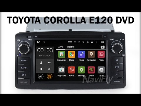 Toyota Corolla (E120) DVD with digital TV