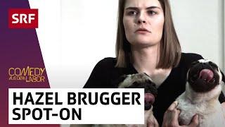 Wie sieht es eigentlich in Hazel Bruggers Gehirn aus?