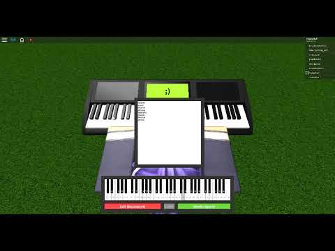 Floral Fury Roblox Piano Youtube