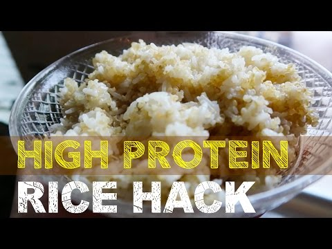 HIGH PROTEIN RICE HACK / Whole Foods Only