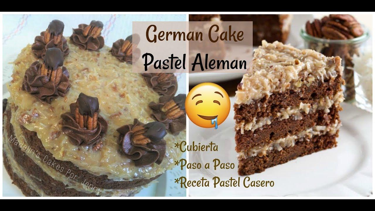 Paso a Paso Pastel Casero Aleman/German Cake