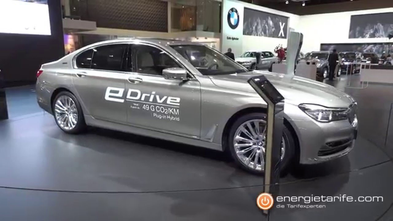 Bmw 740e Iperformance European Motor Show Br Ssel Youtube