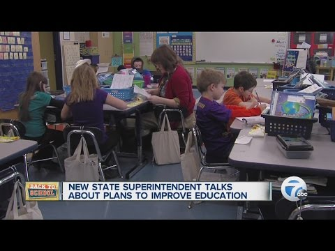 New State Superintendent talks about plans to improve education