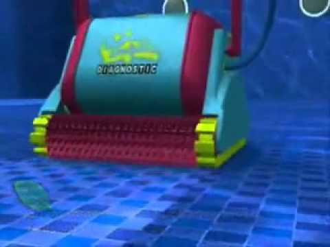 Robots limpiadores dolphin para piscinas dolphin robot for Limpiadores de piscinas