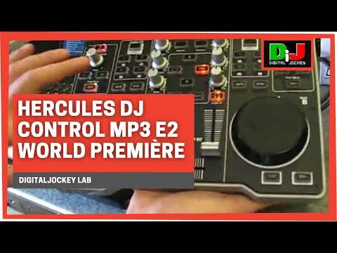 Hercules DJ Control MP3 e2 - World Première @ DigitalJockey Lab