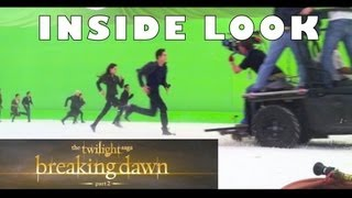 Twilight Saga: Breaking Dawn Part 2 BEHIND-THE-SCENES of Epic Battle