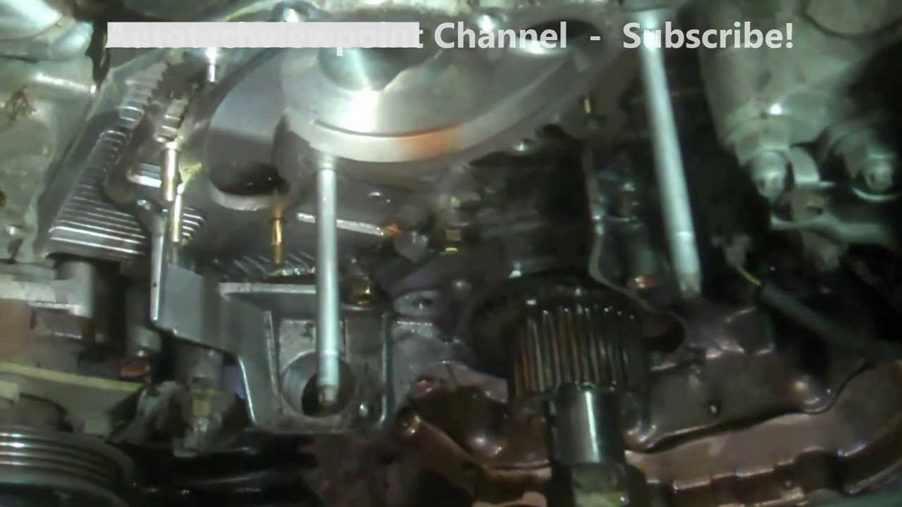 hight resolution of timing belt replacement lexus rx300 2003 3 0l part 2 1mzfe install remove replace youtube