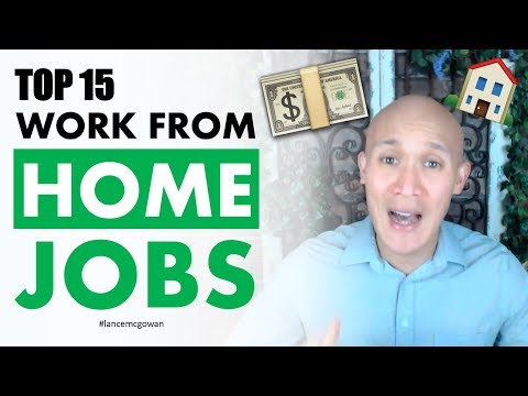 Top 15 Work From Home Jobs And How To Create Passive Income