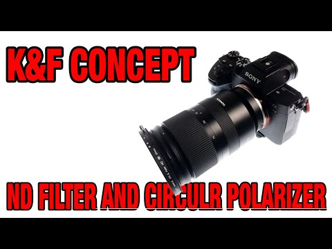 Unboxing K&F Concept Variable ND Filter And Circular Polarizer