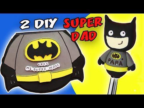 2 DIY SUPER DAD - FATHER`S DAY | aPasos Crafts DIY