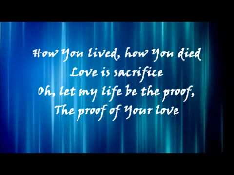 Proof of your love For king & country Lyrics