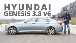 Hyundai Genesis 3.8 V6 GDi 315 KM, 2014 PL ENG test AutoCentrum.pl 152 смотреть
