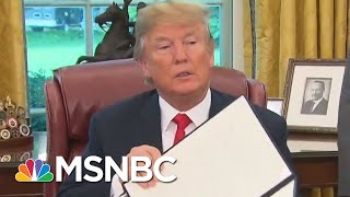 What President Donald Trump's Executive Order Means For Separated Families | Velshi & Ruhle | MSNBC