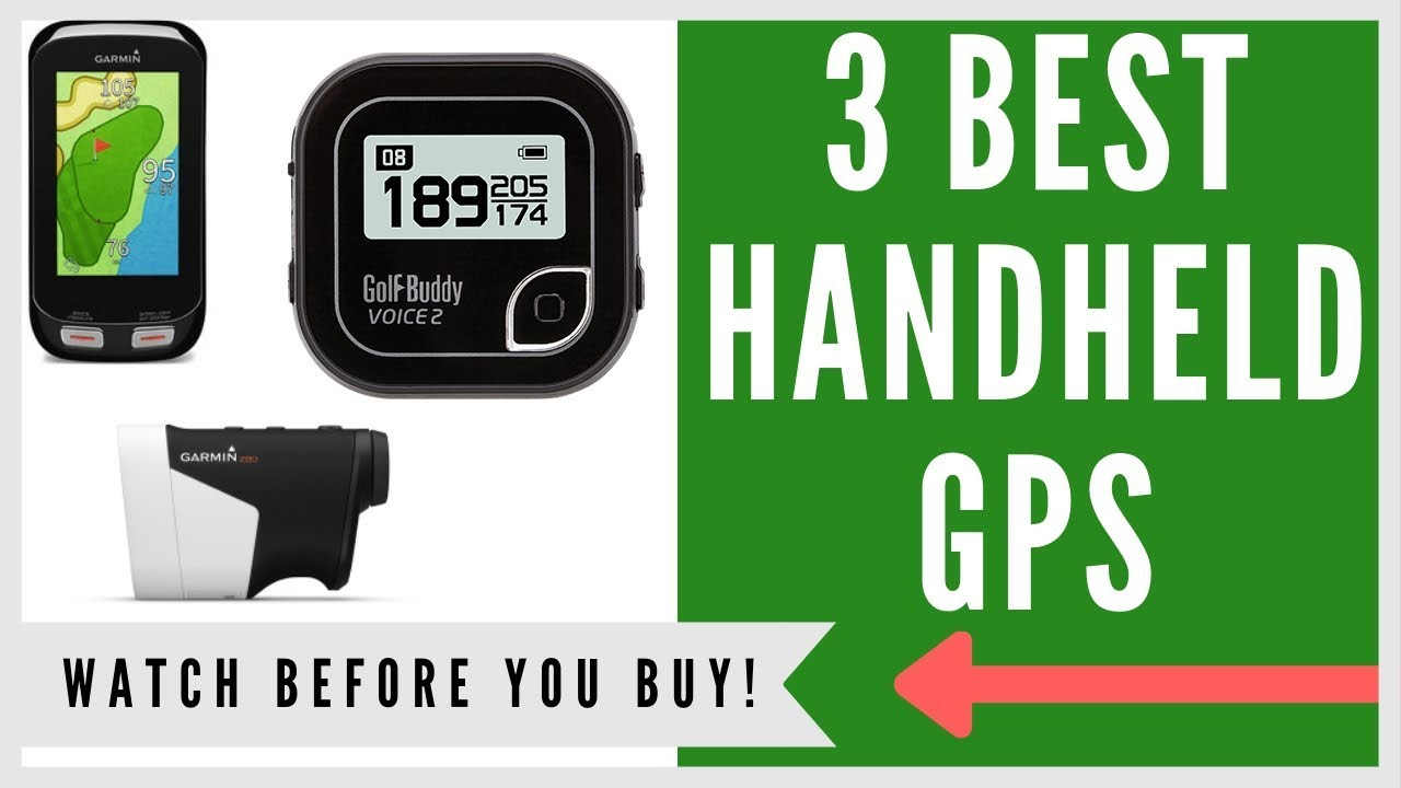 ✅ Golf GPS: 3 Best Handheld Golf GPS Of 2019