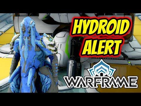 Warframe | Hydroid Alert