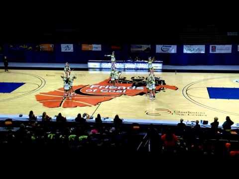 Bishop Donahue High School A WVSSAC Cheer States 2015