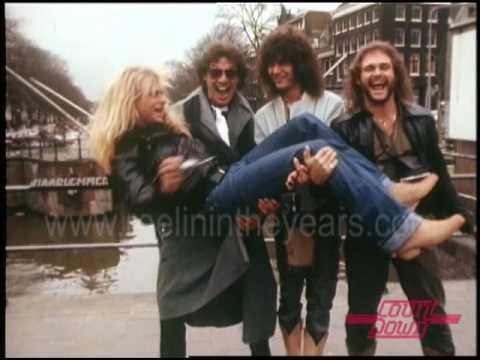 Van Halen- Mayhem in Amsterdam on Countdown 1981