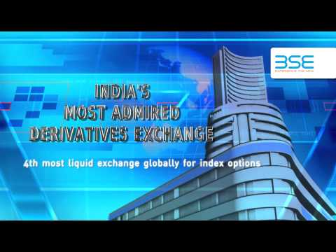 BSE TVC - BSE MOST ADMIRED DERIVATIVES EXCHANGE