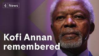 Kofi Annan dies at 80: reaction