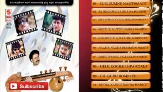 Veena Kannada Instrumental Music | Sum Sumne Nagthaale | Kannada Karaoke Songs