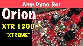 1999 orion xtr 1200 xtreme amp dyno test