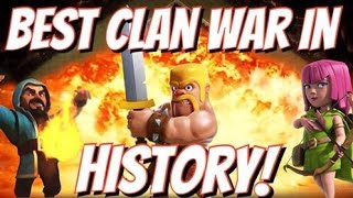Clash of Clans | Best Clan War In History! | GoWiPe, GoWiWi, All Dragon Attack Strategy