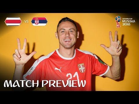 Nemanja Matic (Serbia) - Match 10 Preview - 2018 FIFA World Cup™