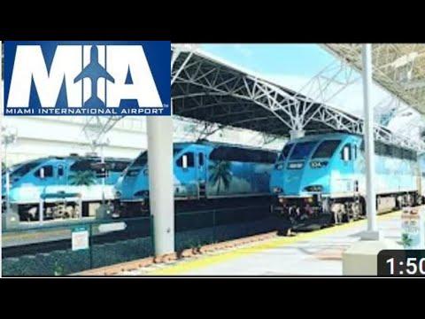 Tri-Rail Miami International Airport-West Palm Beach