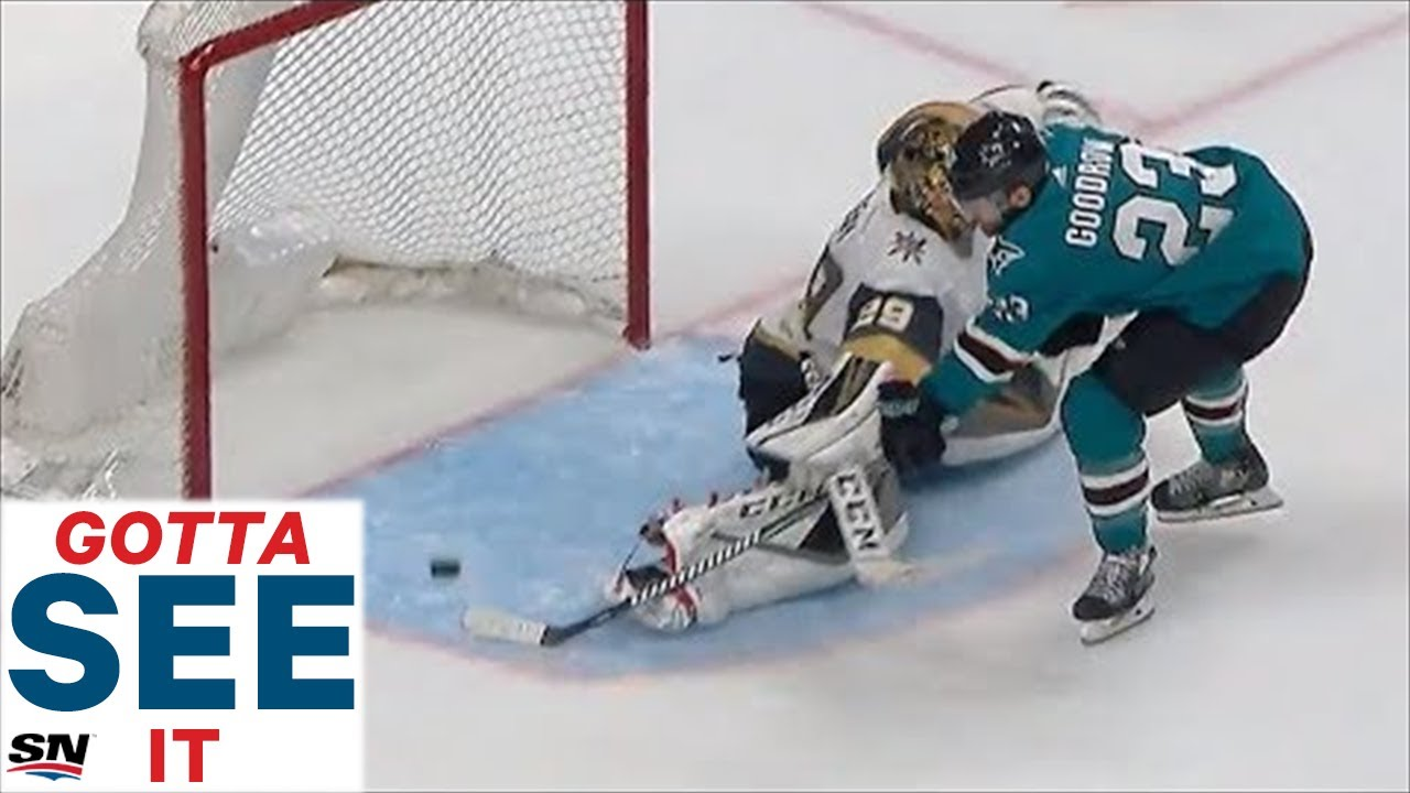 GOTTA SEE IT: Barclay Goodrow Ends Instant Classic Between Sharks & Golden Knights With OT Goal