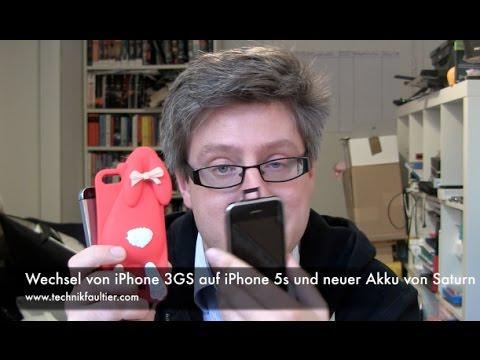 Wechsel von iPhone 3GS auf iPhone 5s und neuer Akku von Saturn