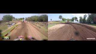 GoPro: Quad vs Bike Redbud lap 2015
