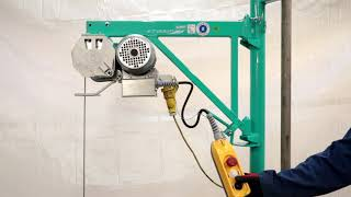 How to use a Scaffold Hoist - Lifting Gear Direct